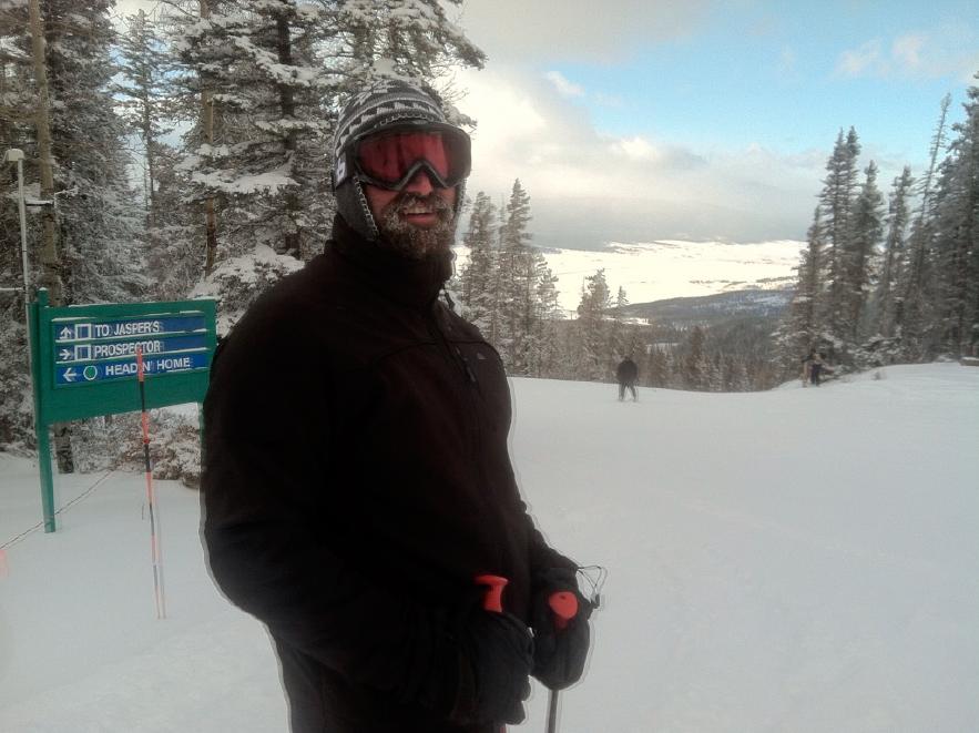 Brian Skiing